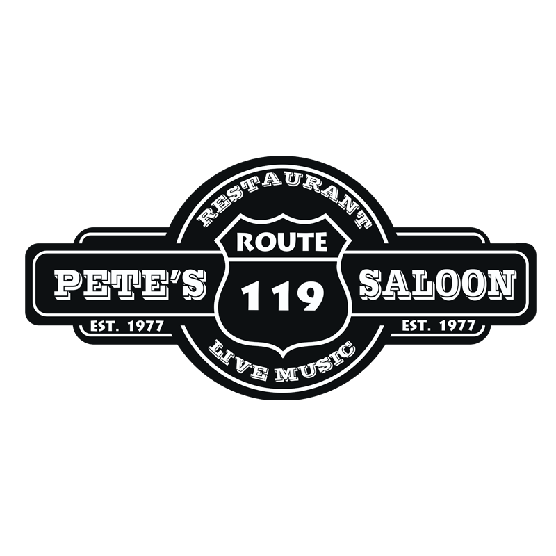 Pete's Saloon logo