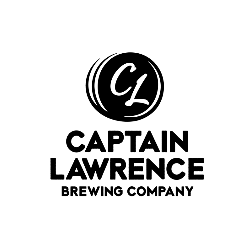 Captain Lawrence Brewing Company stacked logo